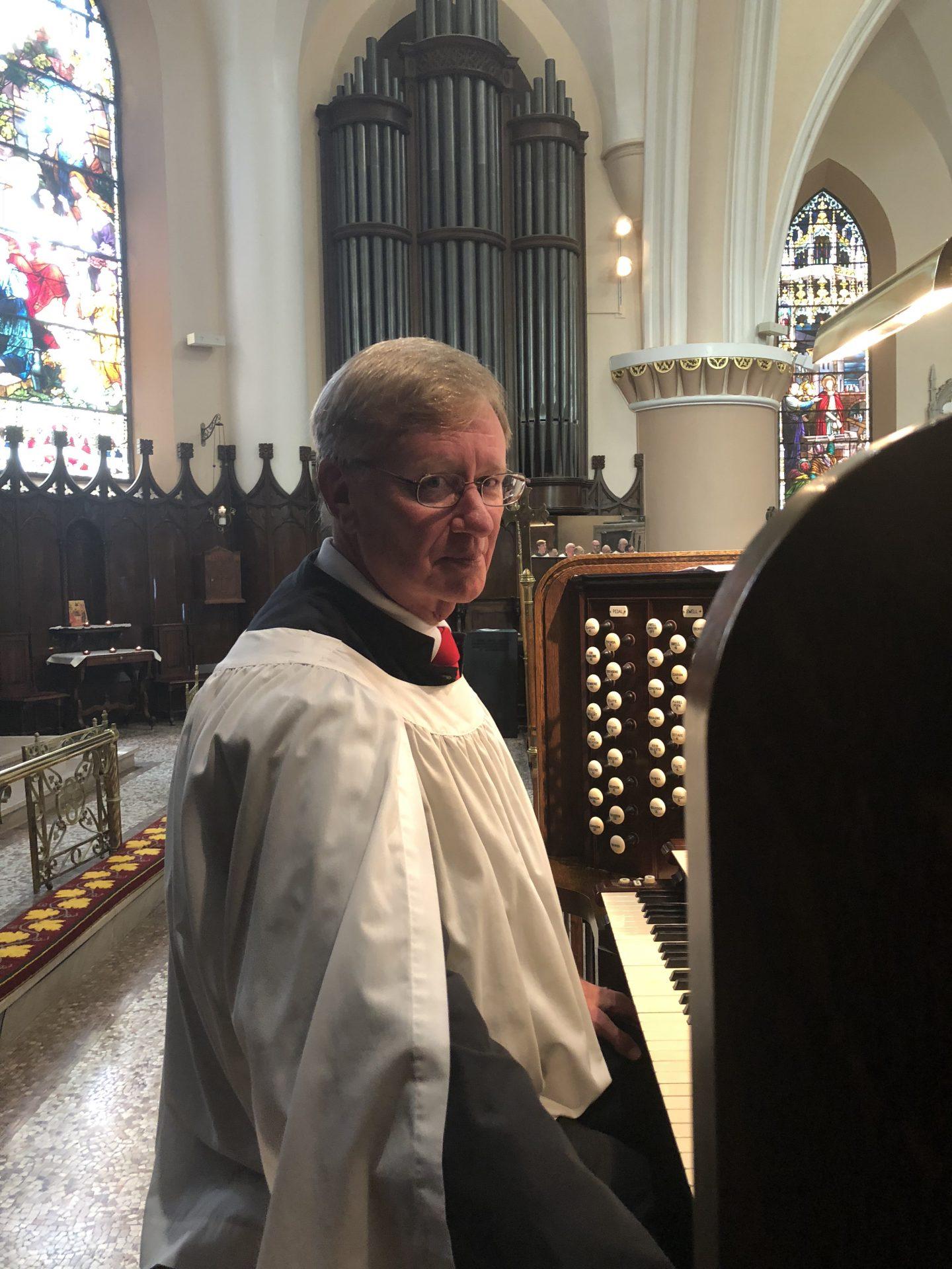 Gurney at Pentecost